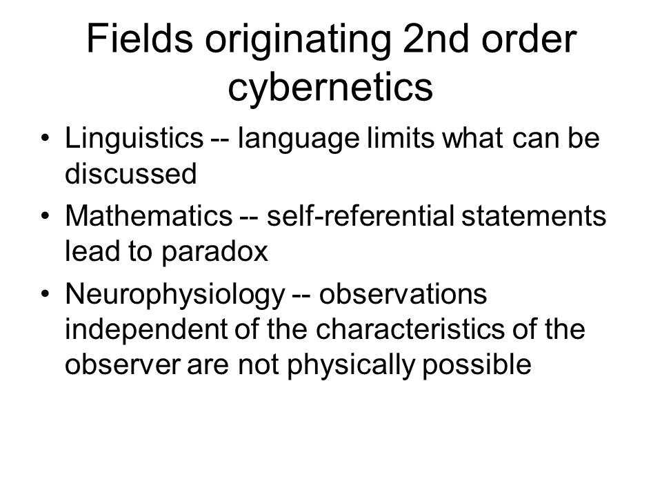 The cybernetics of science NORMAL SCIENCE The correspondence Incommensurable principle definitions SCIENTIFIC REVOLUTION
