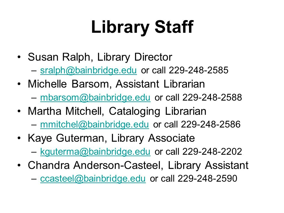 Library Guidelines Always have your updated ID with you while in the library.