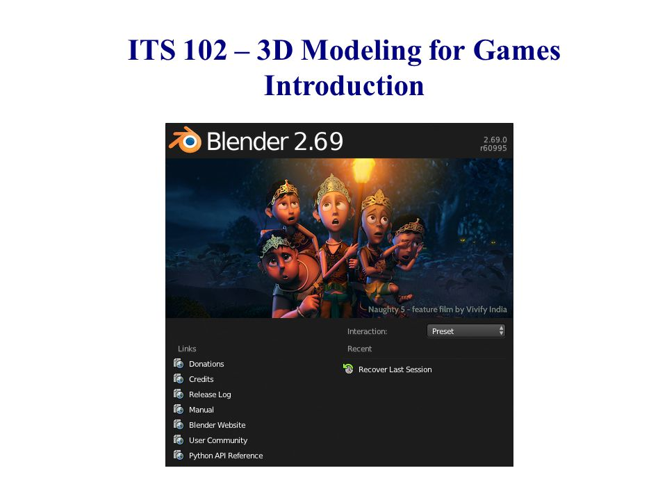 CSE 380 – Computer Game Programming Introduction ITS 102 – 3D Modeling for Games Introduction