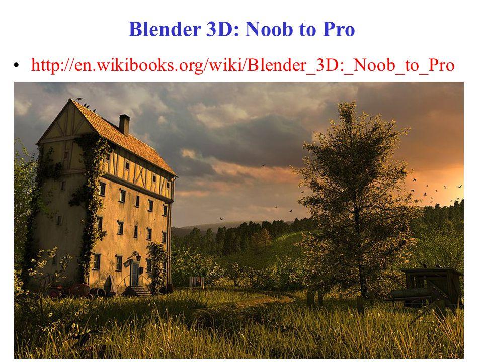 Blender 3D: Noob to Pro http://en.wikibooks.org/wiki/Blender_3D:_Noob_to_Pro