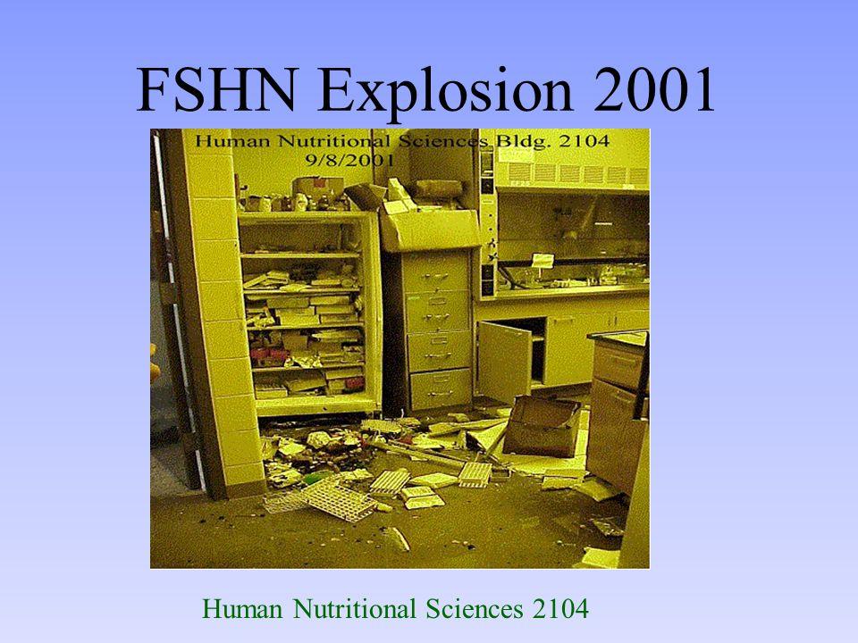 FSHN Explosion 2001 Human Nutritional Sciences 2104