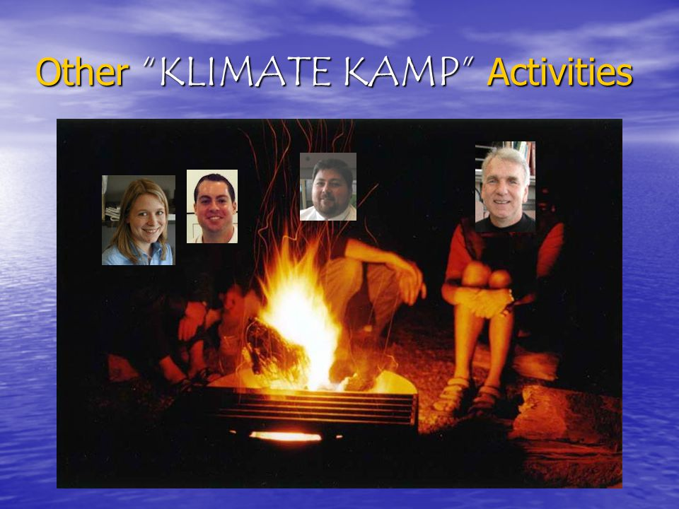 Other KLIMATE KAMP Activities