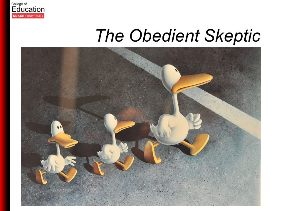 The Obedient Skeptic