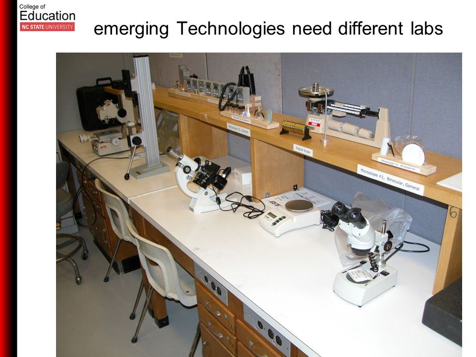 emerging Technologies need different labs