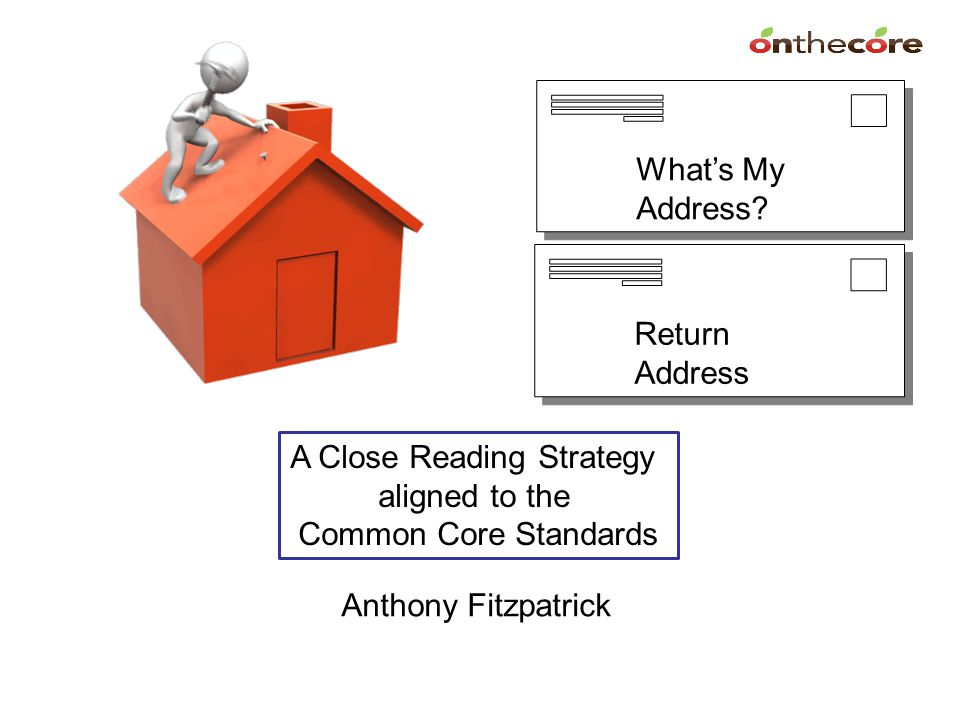 The Premise When examining the text or audio/ visual deliveries of speeches and addresses; we typically ask students questions to make sure they got the main idea and the supporting details.