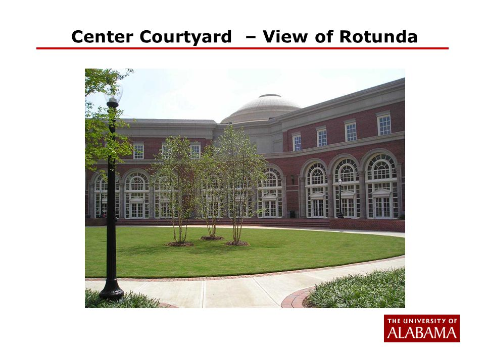 Center Courtyard – View of Rotunda