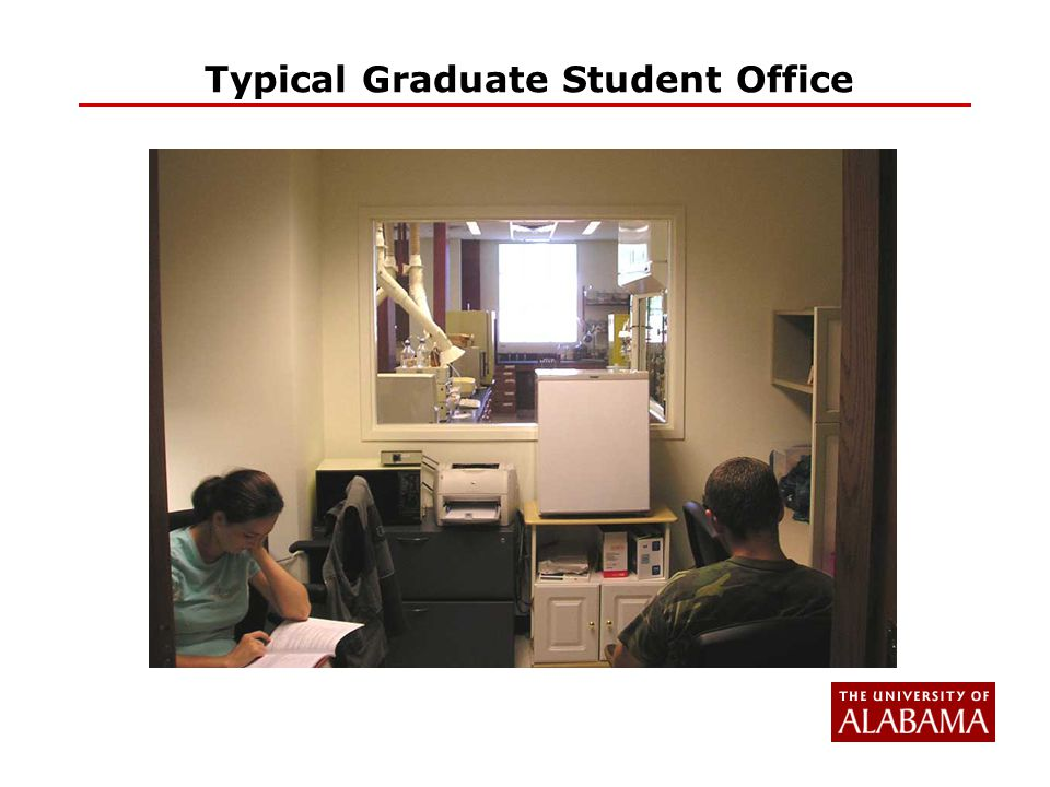 Typical Graduate Student Office