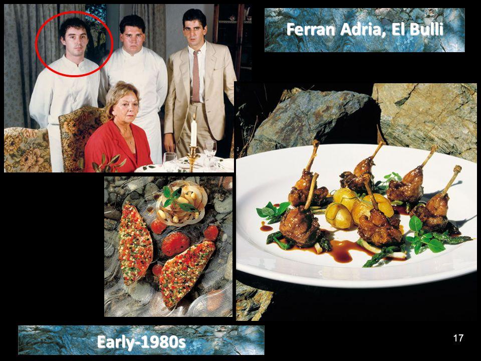 Early-1980s Ferran Adria, El Bulli 17