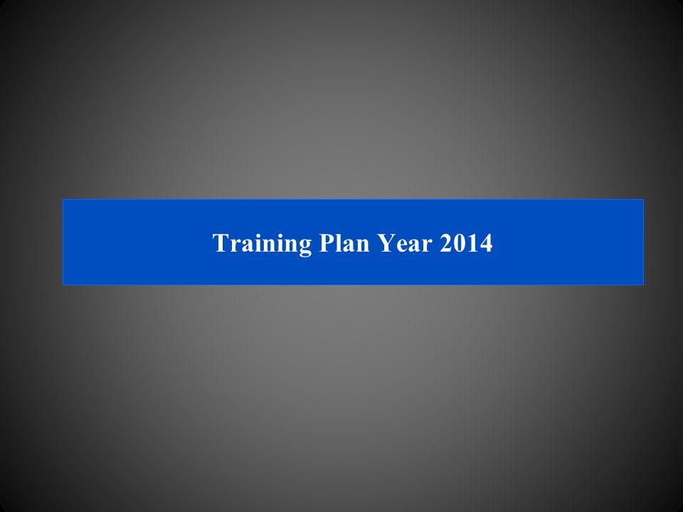 Training Plan Year 2014