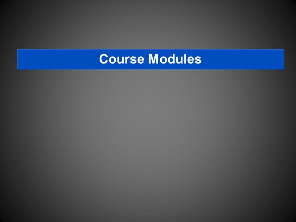 Course Modules