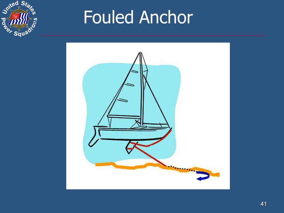 ® 41 Fouled Anchor