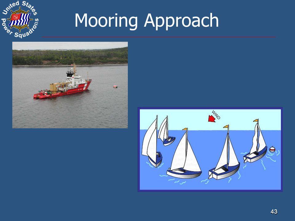 ® 43 Mooring Approach