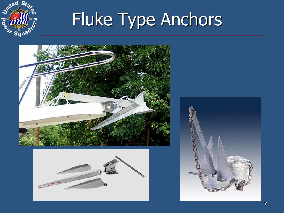 ® 7 Fluke Type Anchors