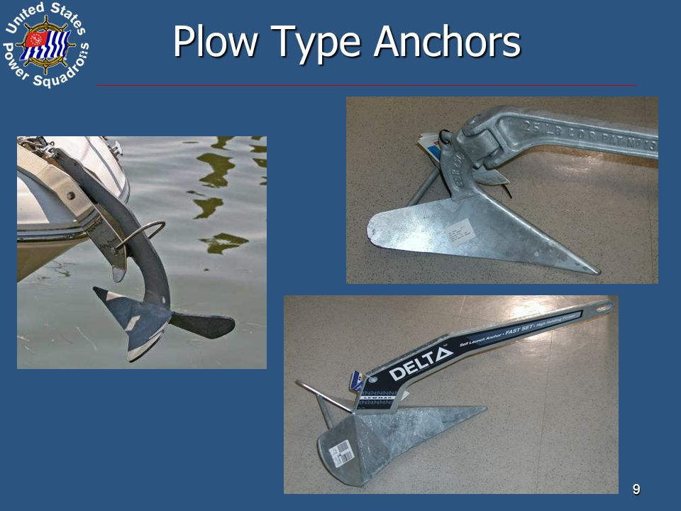 ® 9 Plow Type Anchors
