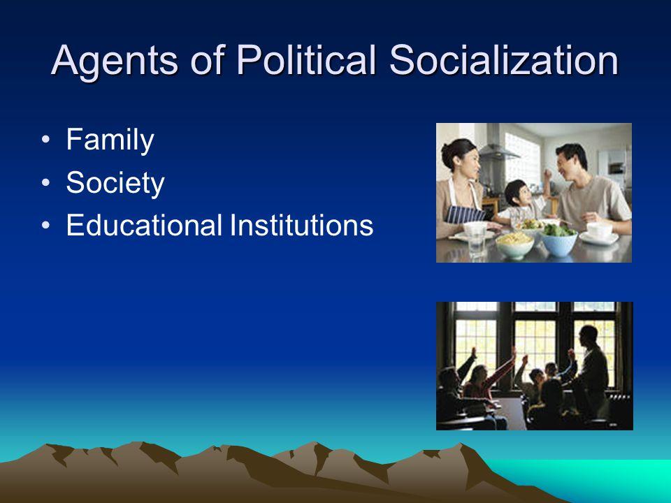 Political Parties Pressure groups Peer Groups