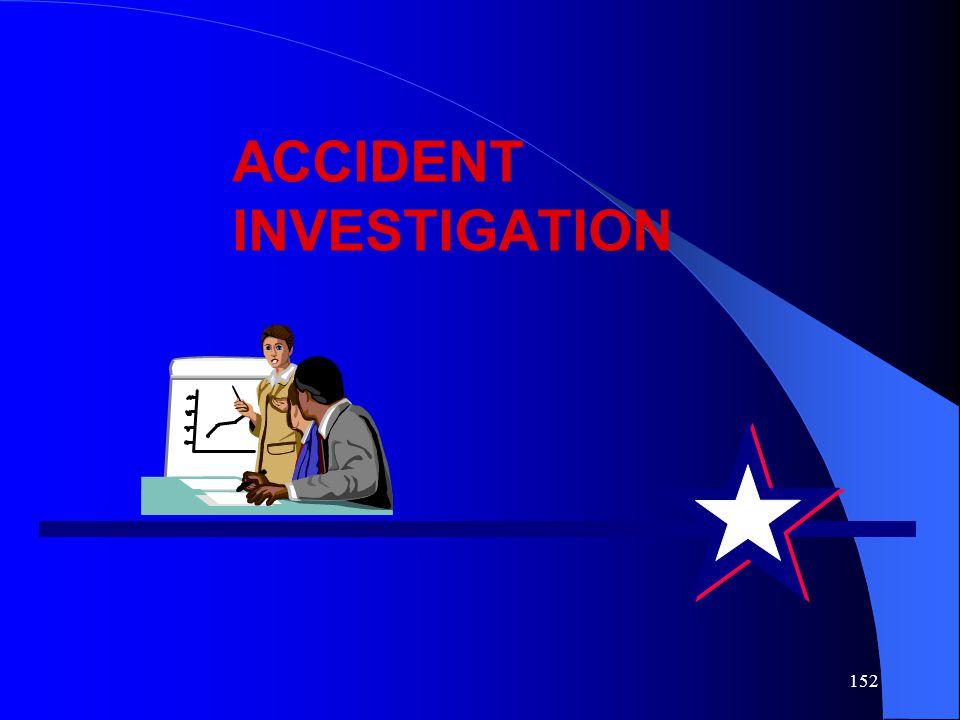 152 ACCIDENT INVESTIGATION