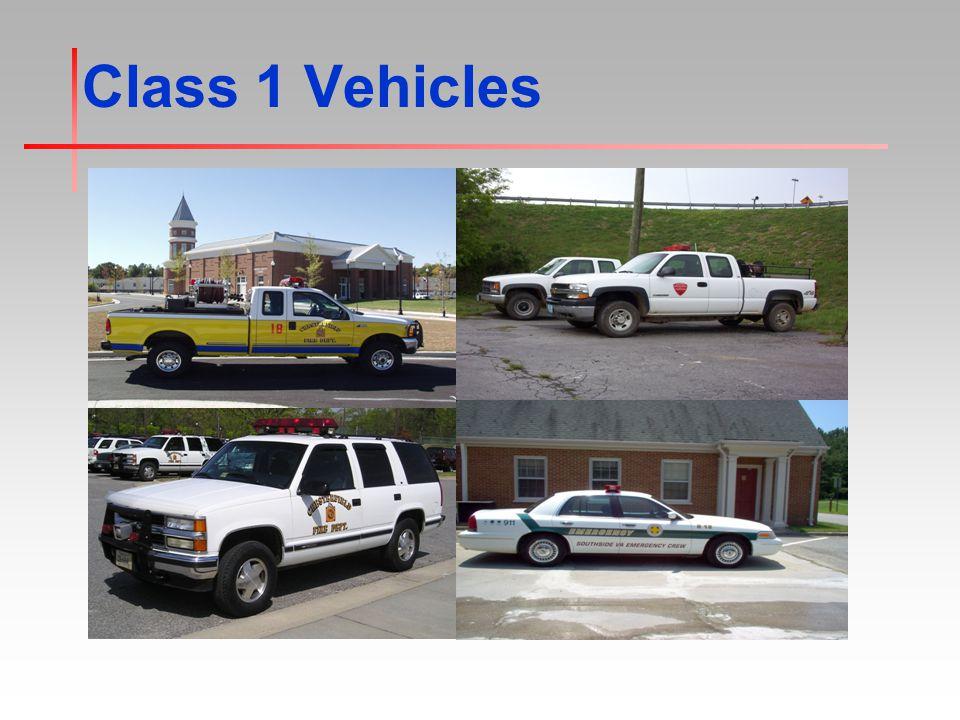Class 1 Vehicles