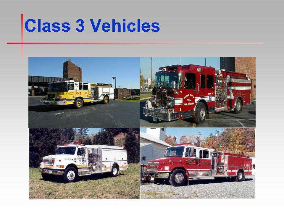 Class 3 Vehicles