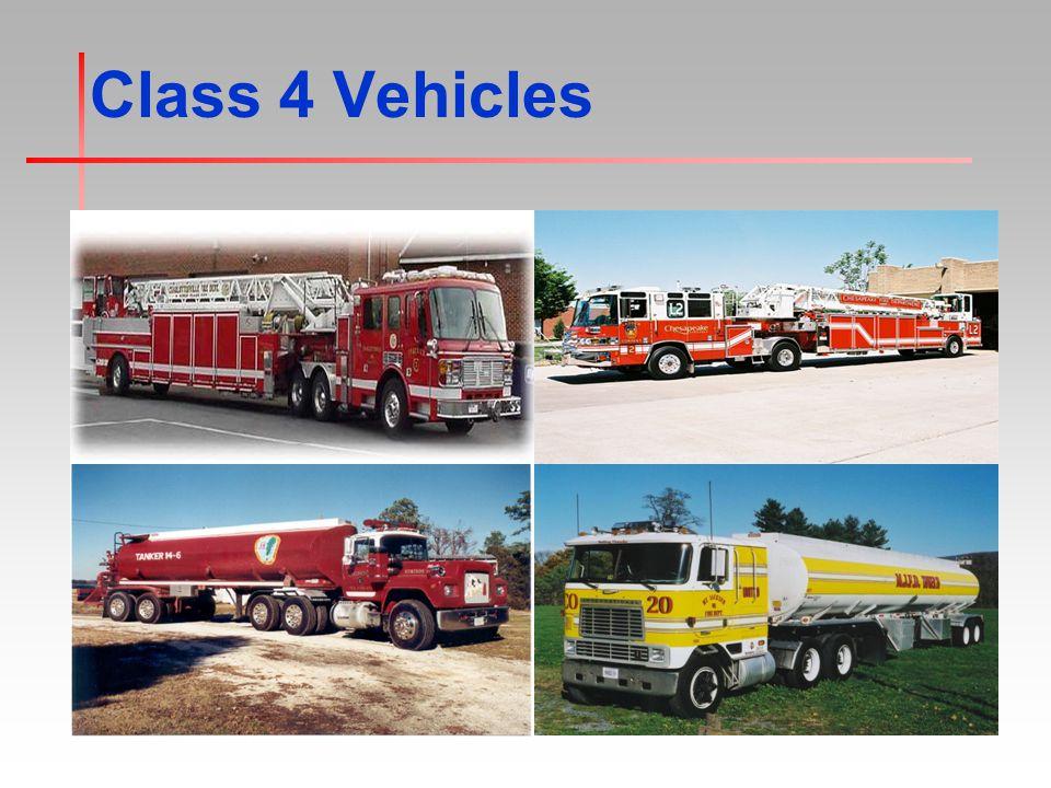 Class 4 Vehicles