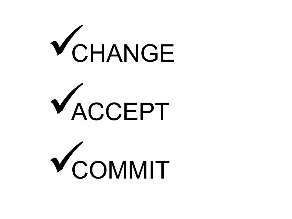 CHANGE ACCEPT COMMIT