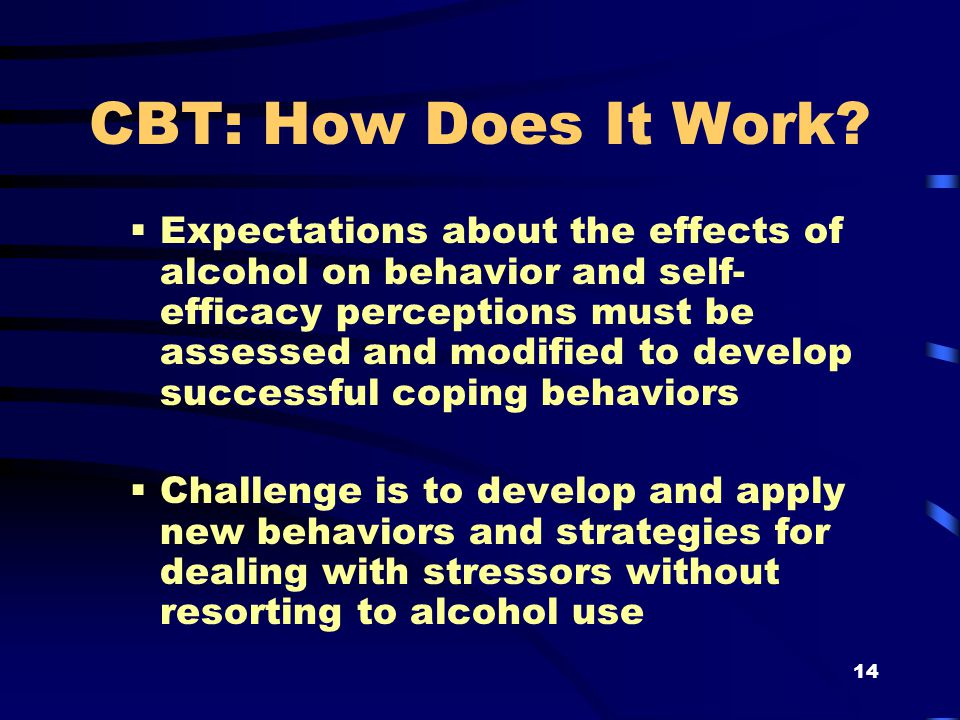 14 CBT: How Does It Work.