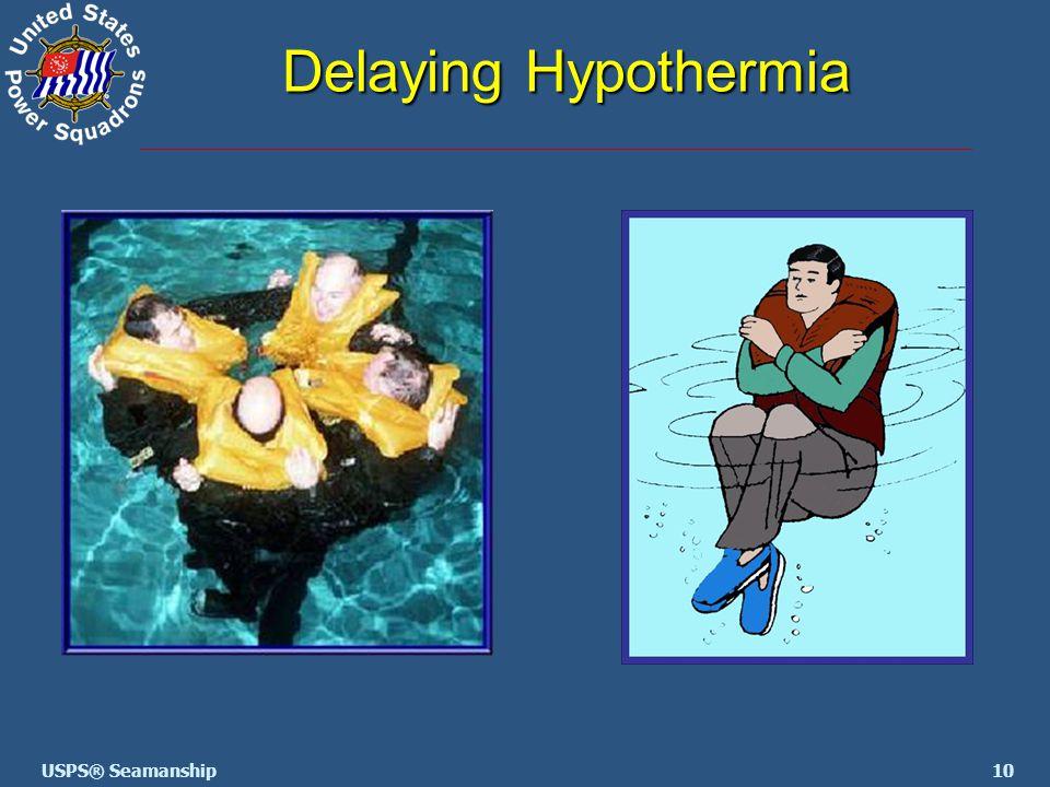 10USPS® Seamanship Delaying Hypothermia