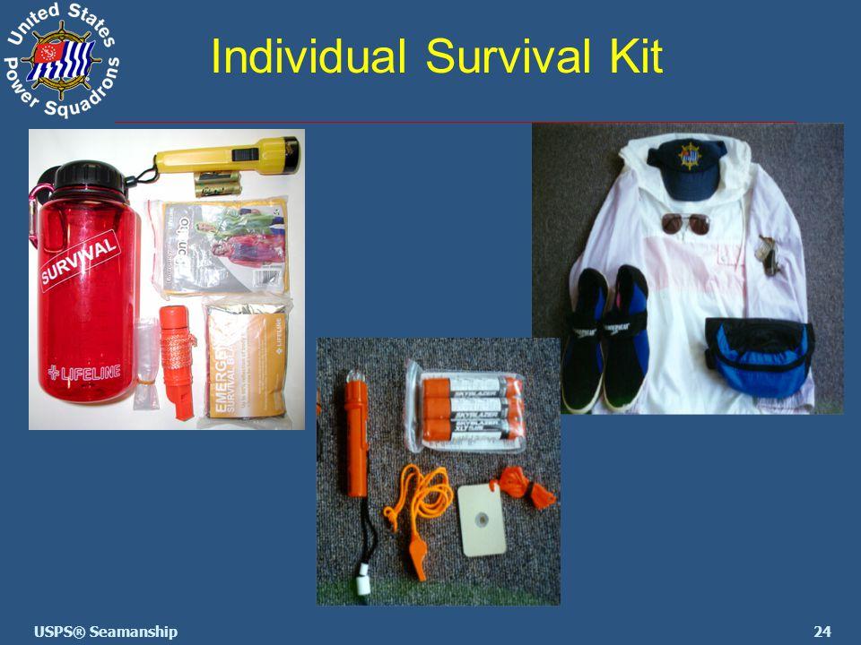 24USPS® Seamanship Individual Survival Kit