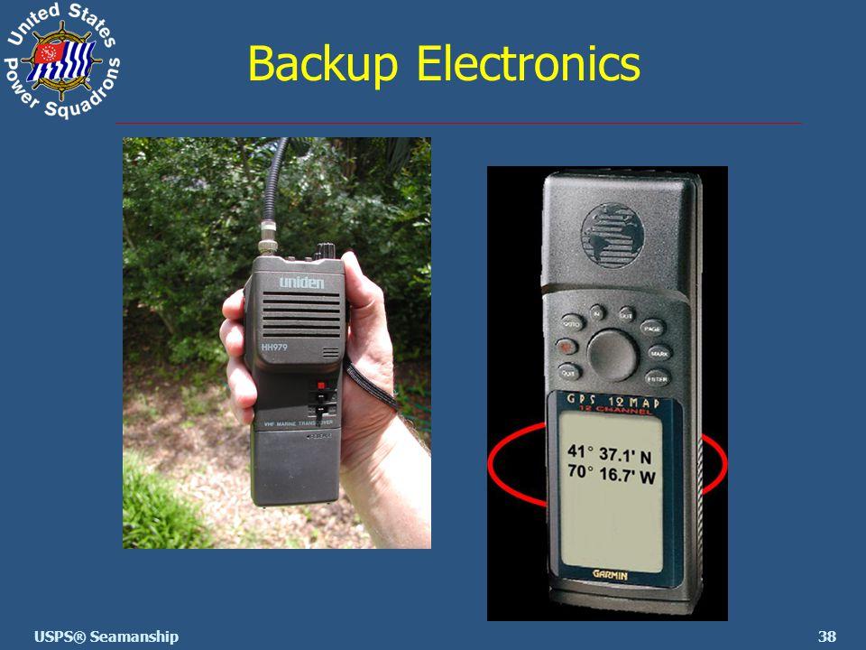 38USPS® Seamanship Backup Electronics