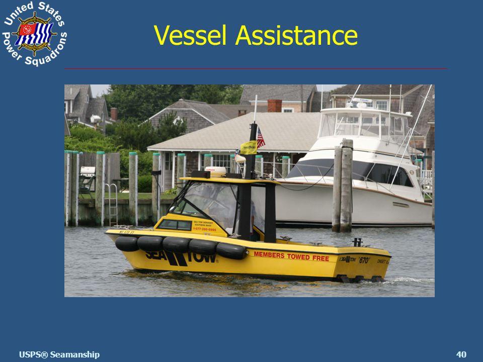 40USPS® Seamanship Vessel Assistance