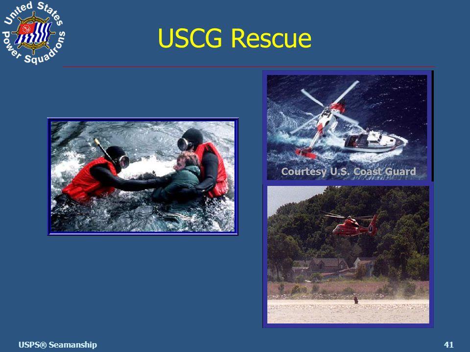 41USPS® Seamanship USCG Rescue