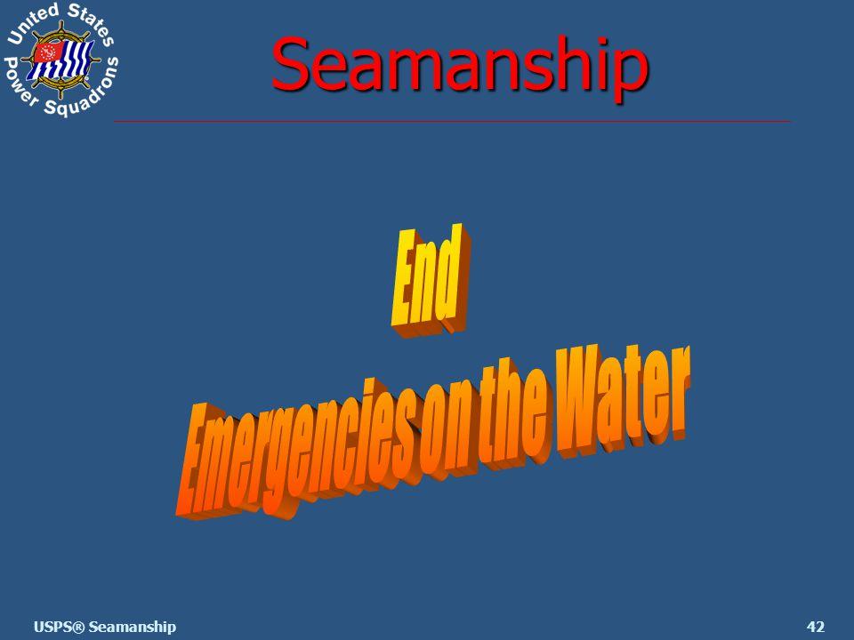 42USPS® Seamanship Seamanship