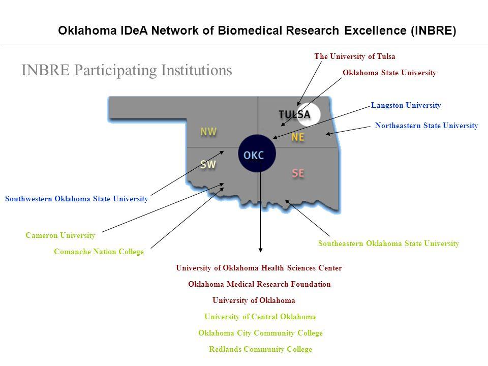 The University of Tulsa University of Oklahoma Health Sciences Center Oklahoma Medical Research Foundation Oklahoma State University University of Okl