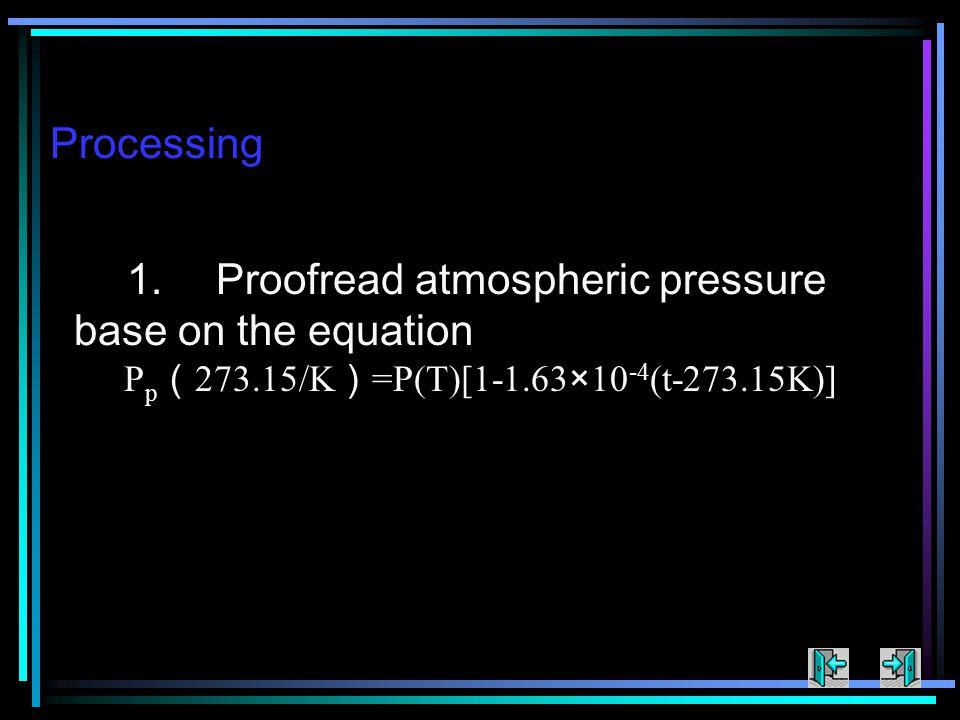 Processing 1.