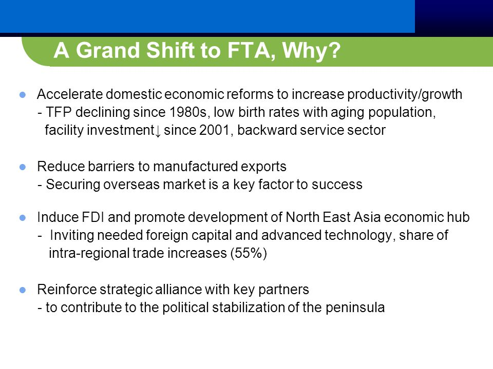 A Grand Shift to FTA, Why.