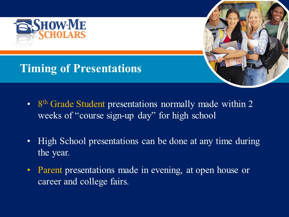 What is your role as presenter.