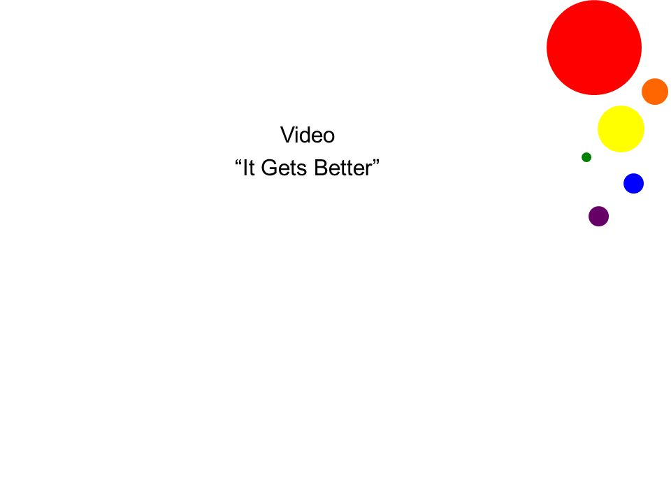 "Video ""It Gets Better"""