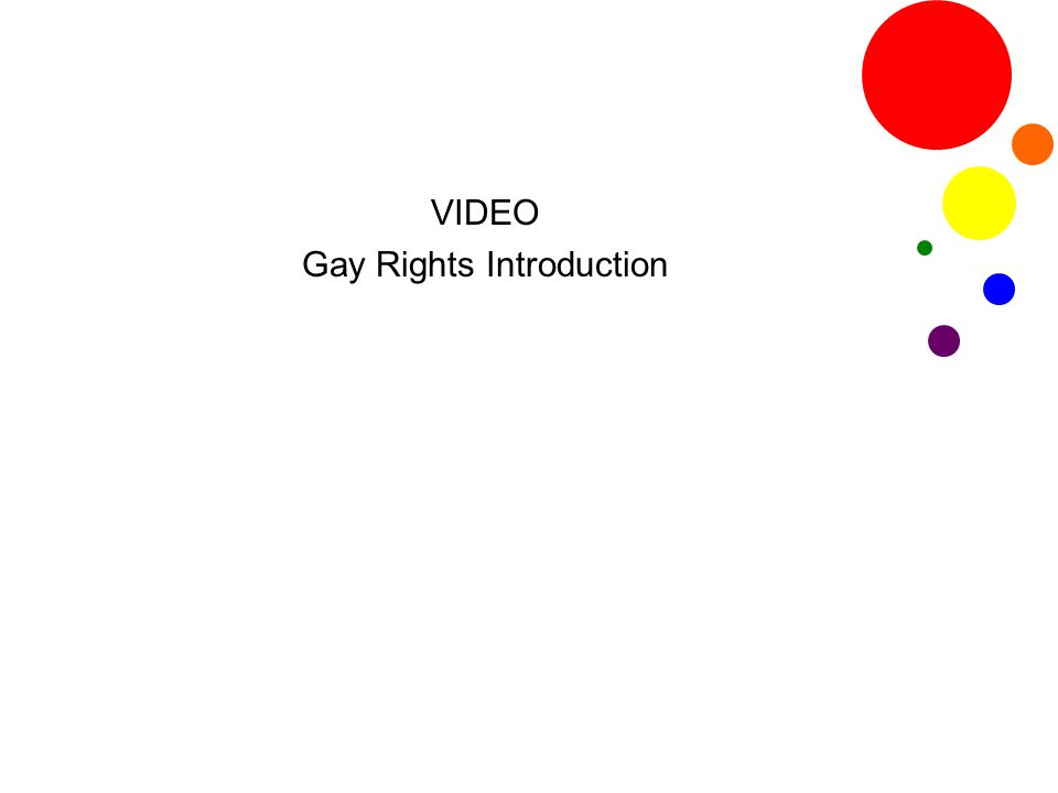 VIDEO QUESTIONS 1.What events have occurred most recently in the LGBTQ rights movement.