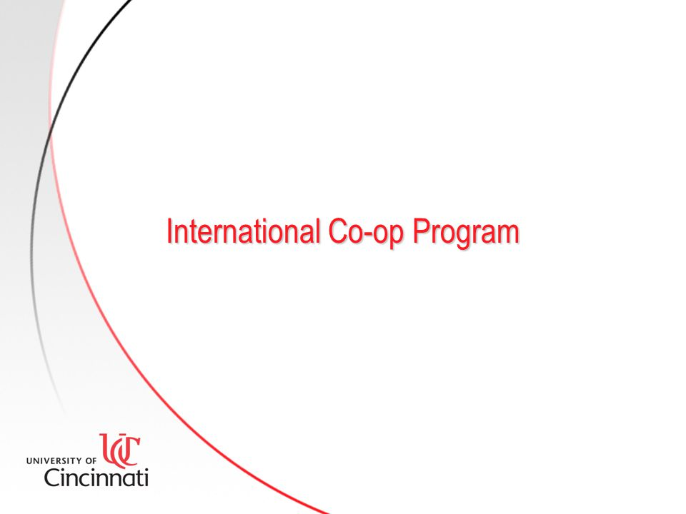 International Co-op Program