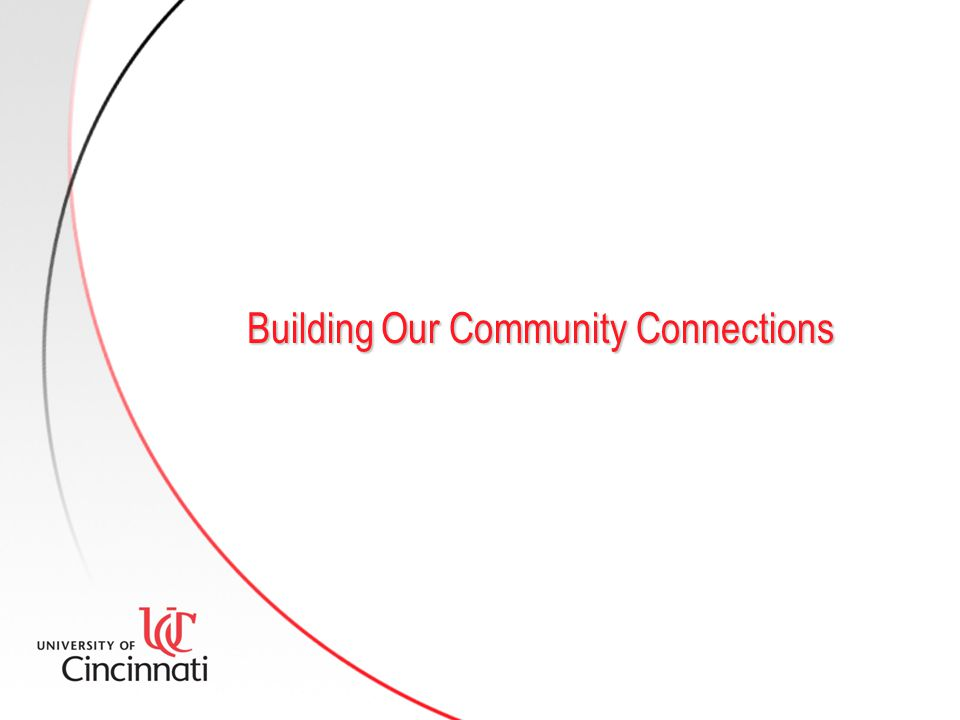 Building Our Community Connections