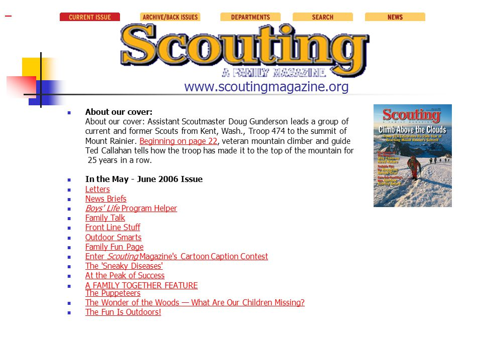 References and Resources www.scouting.org/boyscouts/resources/21-117/01why.html www.lnt.org/main.html www.blm.gov/education/lnt/ www.leavenotrace.com www.usscouts.org/advance/venturing/LeaveNoTrace.