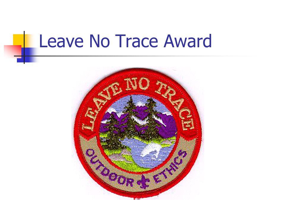 Leave No Trace Award