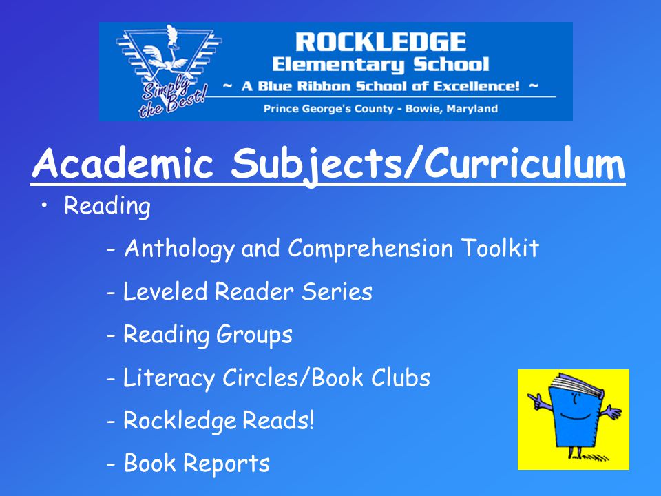 Academic Subjects/Curriculum Oral & Written Communication - Writing Journals/Daily Language Review (D.L.R.) - Cursive handwriting - Spelling (journals and Challenge word lists) - Grammar Study/Exercises - Writing Workshop - Write-A-Book Project