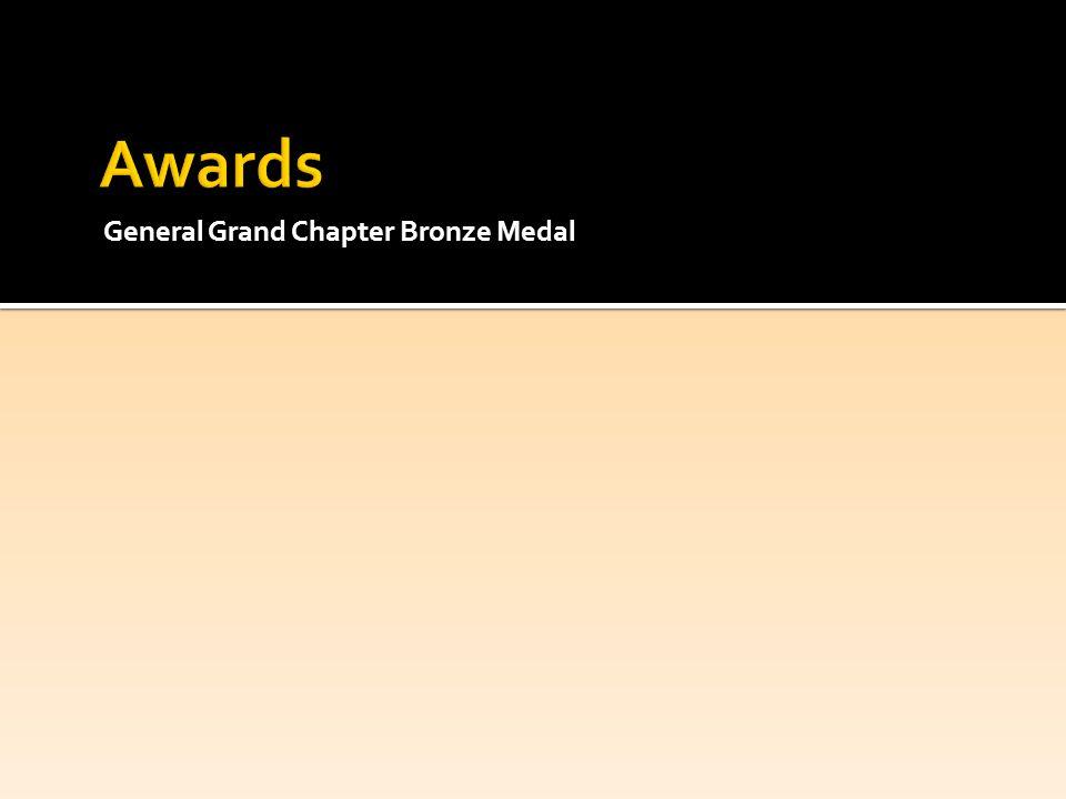 General Grand Chapter Bronze Medal