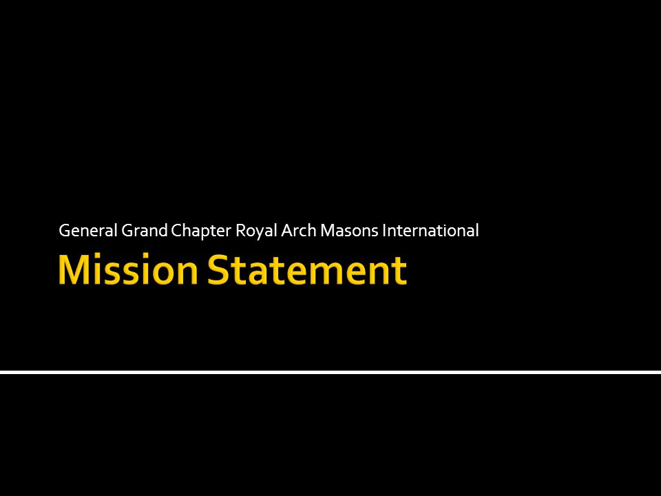 General Grand Chapter Royal Arch Masons International