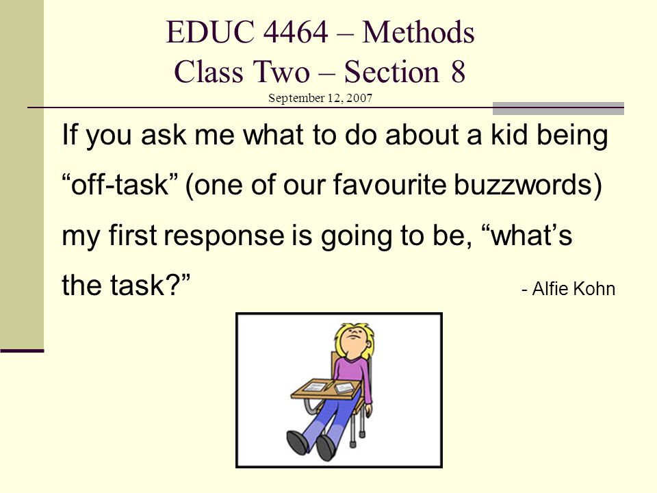 Bell Work You have 5 minutes… 1) In your teaching ideas file under the sub- heading 'Lesson Planning' define the term Hook.