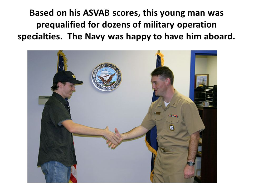 The ASVAB is the U.S.military's most valuable recruiting asset.