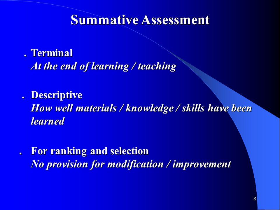 19 Portfolio Assessment Teachers' responsibility is to:.