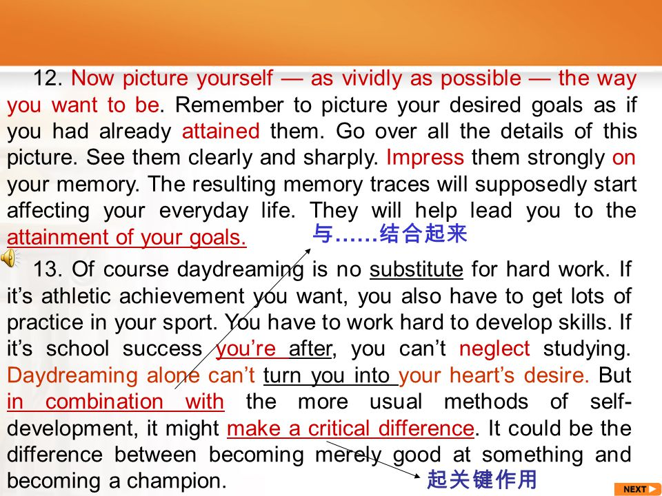 go about: start working on, do 着手做 To learn English well is no easy matter.