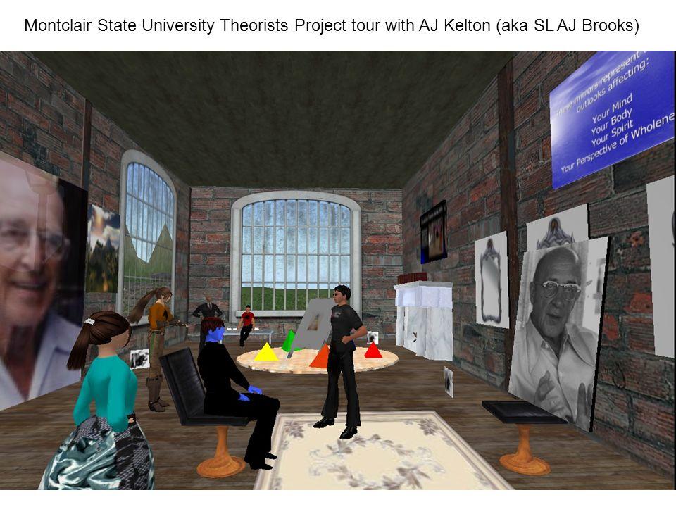 Montclair State University Theorists Project tour with AJ Kelton (aka SL AJ Brooks)