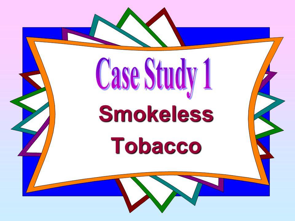SmokelessTobacco